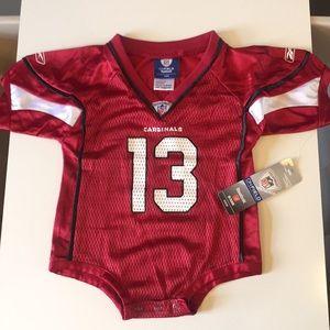 Arizona Cardinals Kurt Warner football jersey 12M